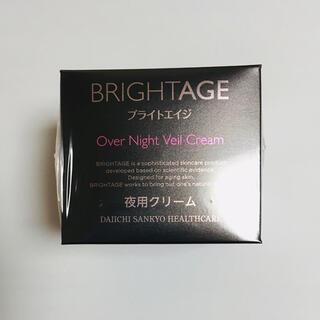 第一三共ヘルスケア - BRIGHTAGE ブライトエイジ  夜用クリーム ナイトクリーム
