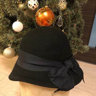 カシラ(CA4LA)のCA4LA 帽子 カシラ リボン ハット(ハット)