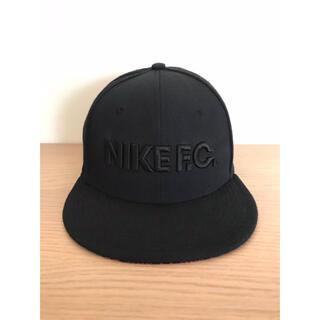 NIKE - 【限定】NIKE/ ナイキF.C. 3D刺繍ロゴ トゥルー キャップ/ブラック