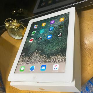 アイパッド(iPad)の美品 iPad4 32GB  WIFI モデル アイパッド  第4世代(タブレット)