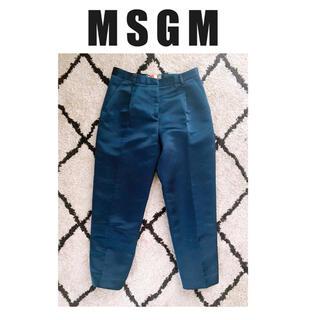 エムエスジイエム(MSGM)のMSGM  サテン スラックス パンツ ズボン メンズ (スラックス)