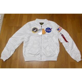 アルファ(alpha)のALPHA INDUSTRIES NASA 100thMISSION L-2B (フライトジャケット)