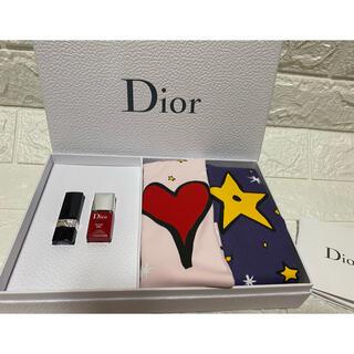 クリスチャンディオール(Christian Dior)のディオール 巾着、ルージュ、ネイル 非売品セット(ノベルティグッズ)