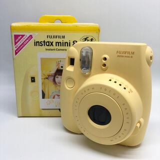 フジフイルム(富士フイルム)のFUJI FILM INSTAX MINI 8 N YELLOW(フィルムカメラ)