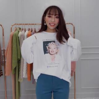 エイミーイストワール(eimy istoire)のeimy ♡ マリリンモンロー コラボT ♡ ①(Tシャツ(長袖/七分))