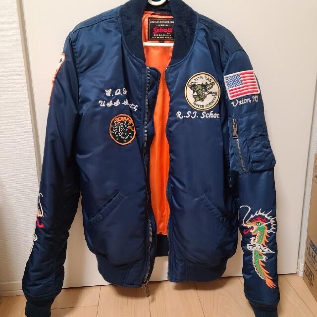 schott(ショット)のshoctt ma-1 スーベニア jkt ショット メンズのジャケット/アウター(フライトジャケット)の商品写真