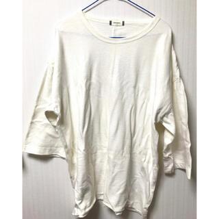 ウィゴー(WEGO)のWEGO Tシャツ カットソー トップス 七分袖 半袖(Tシャツ/カットソー(七分/長袖))