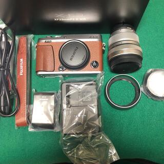 富士フイルム - FUJIFILM X-E3 ミラーレス一眼レフカメラ XF 23mm F2