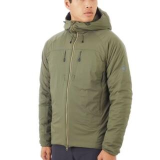 マムート(Mammut)のRime IN Flex Hooded Jacket AF Men(ダウンジャケット)