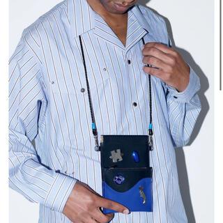 トーガ(TOGA)のtoga virilis leather bag(ボディーバッグ)