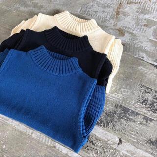 ALEXIA STAM - Cotton Slit Sleeveless Knit Top