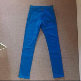 ギャルスター(GALSTAR)のギャルスター カラーパンツ ブルー XS 青 カラースキニー(スキニーパンツ)