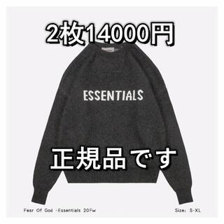 エッセンシャルデザイン(ESSENTIAL DESIGNS)のFEAR OF GOD  セーター  2枚14000円(ニット/セーター)