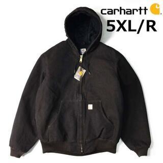 カーハート(carhartt)のカーハート Duck Active Jacket(5XL/R)焦茶 181218(その他)