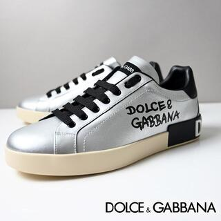 DOLCE&GABBANA - 新品 Dolce & Gabbana ポルトフィーノ カーフスキンスニーカー