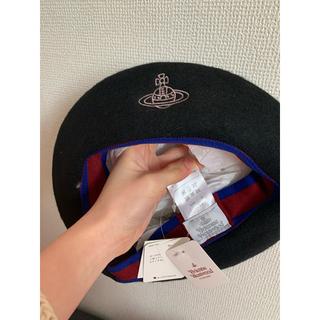 Vivienne Westwood - vivienne westwood ORB刺繍 バスクベレー帽 黒