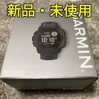 ガーミン(GARMIN)のGARMIN ガーミン Instinct Graphite(腕時計(デジタル))