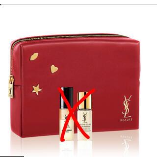 Yves Saint Laurent Beaute - YSL イヴサンローラン オリジナル ポーチ  赤