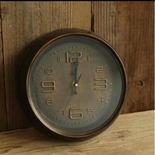 フランフラン(Francfranc)の新品未使用 秒針音が気にならない時計 アンティーク ヴィンテージ時計 掛け時計(掛時計/柱時計)