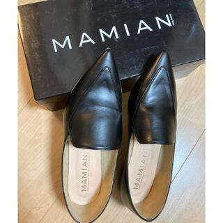マミアン(MAMIAN)の【white.tiger様専用】MAMIAN ポインテッドトゥ フラットシューズ(ローファー/革靴)