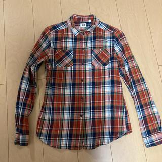 UNIQLO - チェックシャツ ネルシャツ UNIQLO