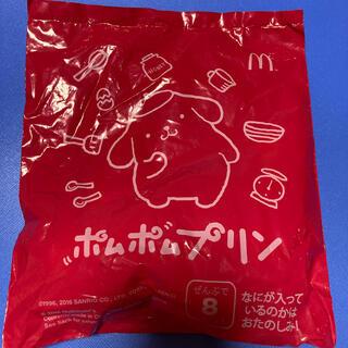 ポムポムプリン(ポムポムプリン)のポムポムプリン マクドナルド ハッピーセット おもちゃ おまけ サンリオ(キャラクターグッズ)