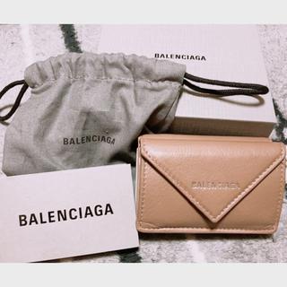 Balenciaga - 未使用 BALENCIAGA ペーパーミニ・ウォレット