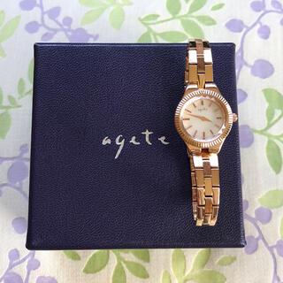 アガット(agete)のagete   ㉙ 腕時計・稼動品✨(腕時計)