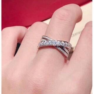 カルティエ(Cartier)の美品 Cartierカルティエ リング●14(リング(指輪))
