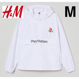 エイチアンドエム(H&M)の新品 安値 H&M × PlayStation ナイロンパーカー M(ナイロンジャケット)