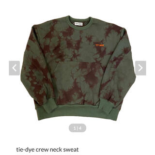 ALLEGE - ttt_msw tie-dye crew neck sweat スウェット