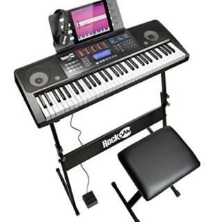 超人気!電子キーボード 61鍵 200音 30曲(エレクトーン/電子オルガン)