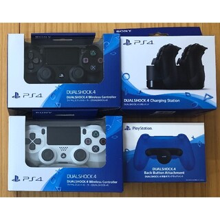 PlayStation4 - 【新品/未開封】【送料無料】PS4 DUALSHOCK 4 純正【4点セット】