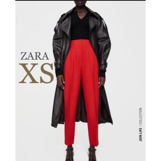 ZARA - 【新品・未使用】ZARA ハイウエストパンツ XS