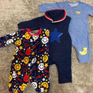 ムージョンジョン(mou jon jon)の子供服 ロンパース 70(ロンパース)