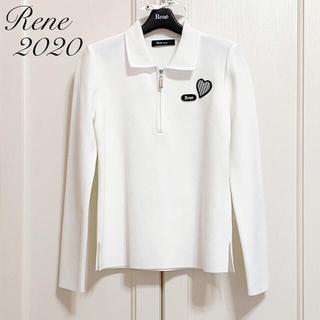 ルネ(René)の新品未使用【Rene】2020年ポロシャツ風ニット(カットソー(長袖/七分))