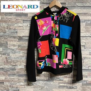 LEONARD - LEONARD SPORT/レオナール❤️フード付きカットソー・パーカー❤️