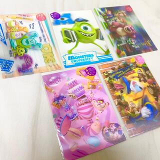 ディズニー(Disney)のポストカード ディズニー sisa 3Dポストカード 5枚セット(使用済み切手/官製はがき)