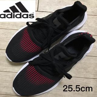 adidas - adidas アディダス スニーカー 黒 25.5cm