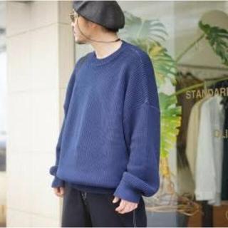 アンユーズド(UNUSED)のUNUSED 5g crew neck knit ニット YOKE stein(ニット/セーター)