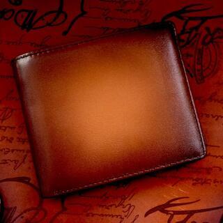 財布 二つ折り財布 メンズ 二つ折り 小銭入れ コインケース 本革 おしゃれ(折り財布)