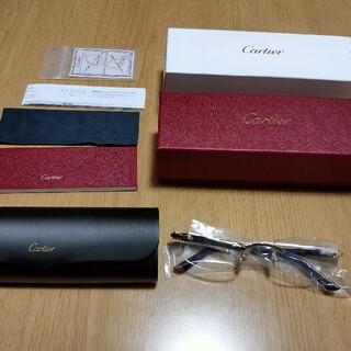 カルティエ(Cartier)の【新品】カルティエ  Cartier メガネ サングラス(サングラス/メガネ)