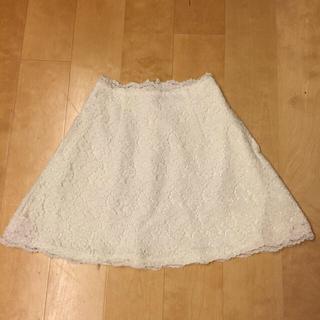 デイシー(deicy)のdeiay♡白レーススカート(ミニスカート)