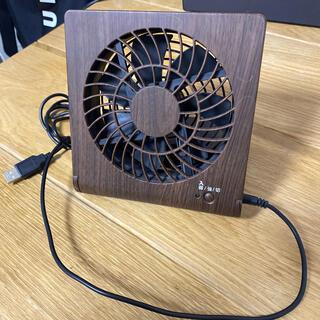 ドウシシャ - ドウシシャ 卓上扇風機 スリムコンパクトファン USB