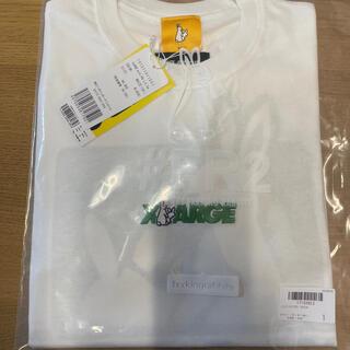 エクストララージ(XLARGE)のXLARGE #FR2 L/S Tee ロンT WHITEサイズM(Tシャツ/カットソー(七分/長袖))
