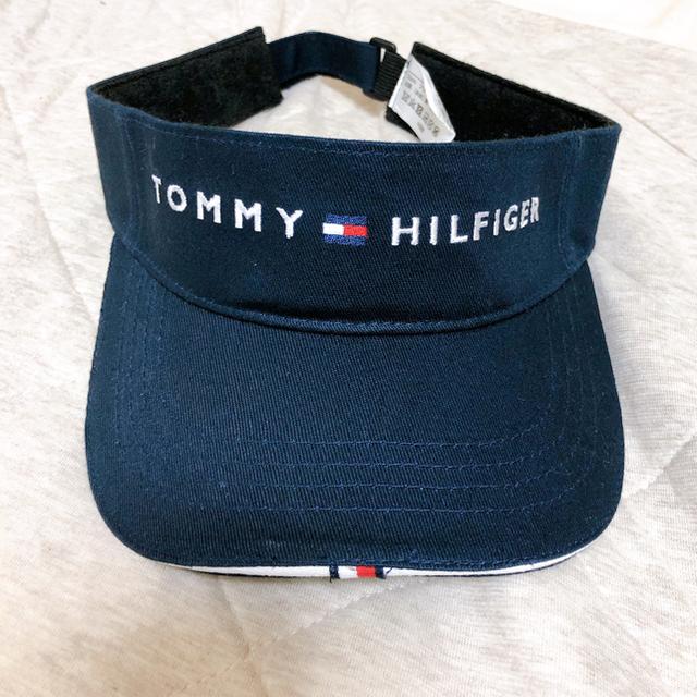 TOMMY HILFIGER(トミーヒルフィガー)のTommy hilfigerゴルフ レディース長袖シャツ+サンバイザー レディースのトップス(Tシャツ(長袖/七分))の商品写真