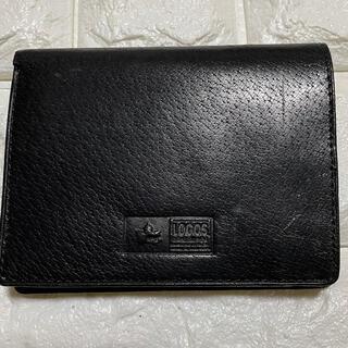 ロゴス(LOGOS)のLOGOS黒2つ折り財布(折り財布)