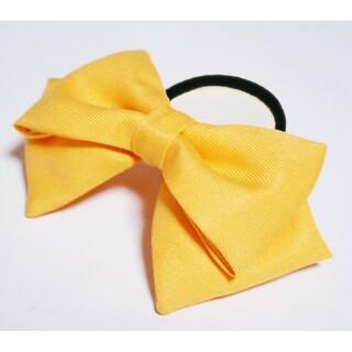 「ラブライブ!」高坂穂乃果 黄色 リボン 髪飾り コスプレ衣装小物 ハンドメイド(アクセサリー)