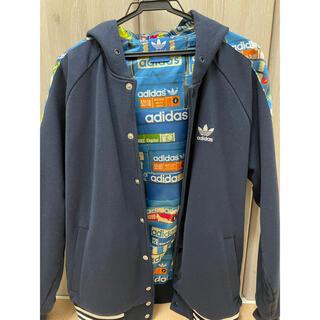 adidas - adidas スエットスタジャン ジャケット 美品 Lサイズ