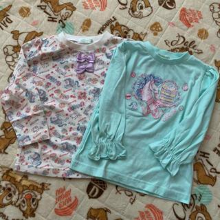 シマムラ(しまむら)のエコネコ🎀Tシャツ 110センチ(Tシャツ/カットソー)